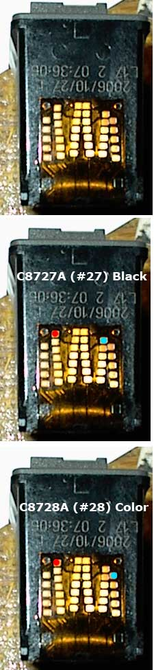 Cartridge  warna (22 atau 28)